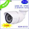 Самомоднейшая камера IP, камера стержня Megapixel 720p HD Megapixel с P2p&Onvif (KDM-6715B)