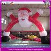Decoração do Natal de Fantasis com o arco inflável do diodo emissor de luz
