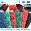 Couvre-tapis de porte en plastique d'étage de pied de bienvenue d'entrée de vinyle de PVC faisant la machine