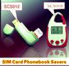 Protector de la agenda de la tarjeta SIM (SCS012, SCS008)