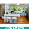 Мебель кухонного шкафа кухни лака U-Формы UV (AIS-K372)