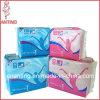 Guardanapo sanitário confortável, almofadas sanitárias do algodão, guardanapo sanitários respiráveis