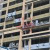 Acier Zlp500 Suspended Rope Platform sur Construction