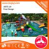Trasparenza di acqua divertente della strumentazione del campo da giuoco della piscina