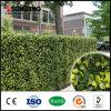 Im Freiengarten PVC-überzogene künstliche gelbe Blatt-Zaun-Wand