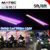 Antenas de la tira del LED, LED que advierte la luz impermeable de la tira LED poste de ATV