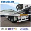 Hochleistungs40ft LKW-halb Schlussteil der heißen Verkaufs-für Behälter/Flachbett/Ladung