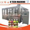 Máquina de rellenar de la fabricación del CE de la botella del jugo plástico automático estándar de Eliquid