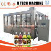 Заполняя стандартного изготовления Ce автоматическая моя и покрывая машина 3in1 для сока