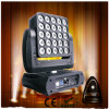 25X12W RGBW 4in1 DEL Moving Head Light avec Sharp Beam Effect