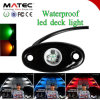 IP68 Waterproof White Red Orange Blue 12V Flashing Safety Car Light
