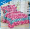 花プリント綿の寝具のキルト