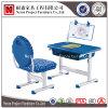 테이블 (NS-XY030B)를 배우는 플라스틱 그림 학생 책상 및 의자