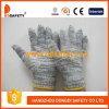 7 перчаток связанных шнуром работая Dck515 полиэфира хлопка датчика