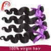 Pacotes peruanos do cabelo humano da onda do corpo do cabelo do Virgin