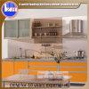 Nouvelle conception en bois colorée de Cabinet de cuisine de Hotsale (standard ou customzied)