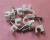 De ronde Klem van de Kabel van de Spijker van de Vorm van de Klem van de Kabel Plastic C