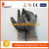 Перчатка нитрила Ddsafety Горяч-Продавая серая Nylon черная (DNN450)