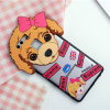Cubierta del teléfono móvil de la PC del Bowknot del perro de la historieta para Huawei 5s