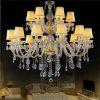 室内装飾の骨董品の蝋燭の水晶のシャンデリア