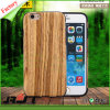 El modelo de bambú de madera mueve hacia atrás difícilmente la cubierta de madera del caso para el iPhone