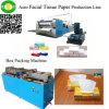 Tagliatrice automatica della macchina di carta del fazzoletto per il trucco