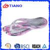 Flip-flop variopinti della spiaggia di EVA di vendita calda per la signora e gli uomini