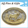 3D Goat Alloy Belt Buckle mit Special Edge (Belt buckle-015)