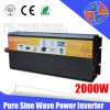 Fabricante 12V AC a DC Gird panel de la energía del inversor solar 2000W 220V Inversor