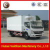 Het beste Verkopen Dongfeng 10m3 Freezer Van Truck