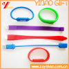 Wristband do silicone do USB da alta qualidade para o presente relativo à promoção (YB-WR-03)