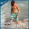 I Mens di Inone M014 nuotano i pantaloni di scarsità casuali di Shorts della scheda