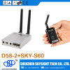 D58-2 Fpv Receiver Sky-S60 Wireless Video Audio 5.8g OSD Fpv Transmitter