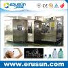 Machine de remplissage de bouteilles en plastique ronde normale de l'eau minérale