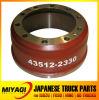 43512-2330 части тележки тормозного барабана на Hino 700