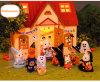 Os brinquedos da casa do jogo para o brinquedo da mobília da casa do jogo dos miúdos ajustaram-se no brinquedo Home