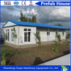 Casa pré-fabricada do edifício modular do projeto moderno da proteção ambiental da construção de aço clara para a vida provisória no canteiro de obras