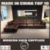 2017 neue Ankunft L Form-Leder-Couch