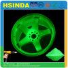Incandescenza luminosa di verde poco costoso all'ingrosso di prezzi della fabbrica nel rivestimento scuro della polvere della vernice di spruzzo