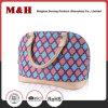 Bolsa de couro da mulher do desenhador do plutônio da cor-de-rosa conveniente pequena