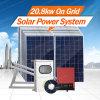 Morege sur le système d'alimentation solaire du réseau 2kw-10kw-30kw picovolte