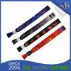Kundenspezifische GewebeWristbandfestival gesponnene Wristbands für Förderung