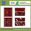 Revestimento de madeira do pó do efeito das portas perfeitas da segurança