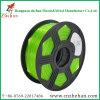 Filamento verde de la impresión 3D de Yoyi PETG 1.75m m