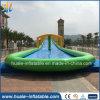 Diapositiva inflable gigante, diapositiva larga de la ciudad inflable para la venta