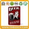De Affiche van het Tin van het Metaal van het bier, Retro Teken van het Tin van de Drank