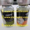 Hologram Laser Label Stick com impressão para Gen Pharma Glass Garrafa Frasco