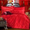 Summer Summer Ice Sheets Saco de cama Seda Seda de cetim 4 Fitted Wedding Bare Silk Bed Supplies
