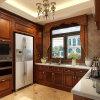 Bulit-em Wall Refrigeratory Solid Wood Weneer com Melamine Board