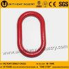 La goccia dell'acciaio legato del hardware G80 di sartiame ha forgiato la maglia di connessione Chain